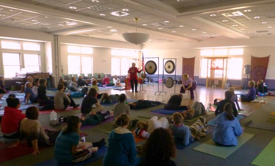 Gong Bath at RI Yoga Festival