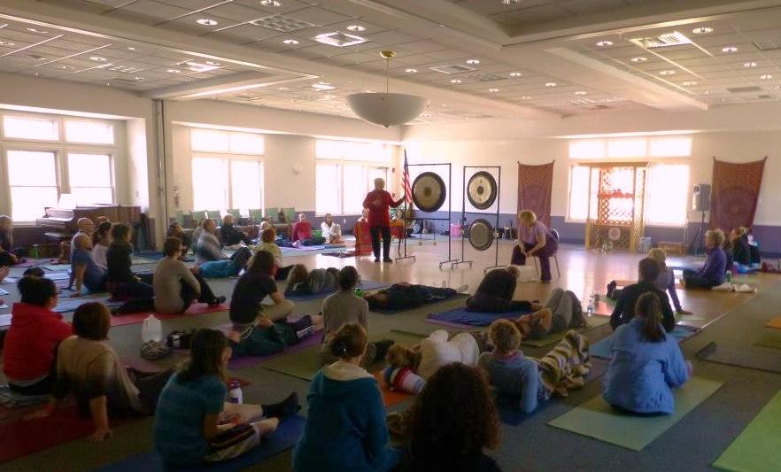 Gong Bath at RI Yoga Festival