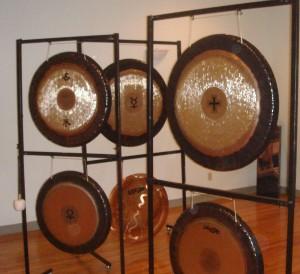 multiple gongs